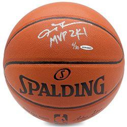 Allen Iverson Signed Limited Edition Basketball Inscribed  MVP 2K1  (UDA COA)