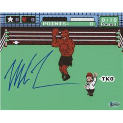 """Mike Tyson Signed """"Punch-Out!!"""" 8x10 Photo (Beckett COA)"""