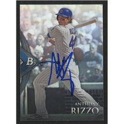 Anthony Rizzo Signed 2014 Bowman Platinum #66 (PSA Hologram)