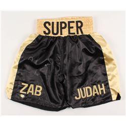 "Zab ""Super"" Judah Signed Boxing Shorts (MAB Hologram)"