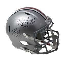 Nick Bosa  Joey Bosa Signed Ohio State Buckeyes Full-Size Speed Helmet (JSA COA)