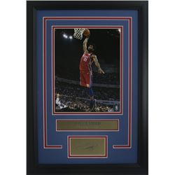 Joel Embiid Philidelphia 76ers 11x14 Custom Framed Photo Display with Laser Engraved Autograph