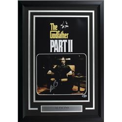 "Al Pacino Signed ""The Godfather Part II"" 17x24 Custom Framed Photo Display (Beckett COA)"