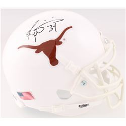 Ricky Williams Signed Texas Longhorns Mini Helmet (JSA COA)