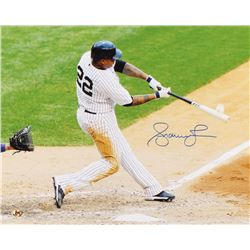 Andruw Jones Signed New York Yankees 16x20 Photo (MAB Hologram)