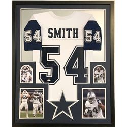 Jaylon Smith Signed Dallas Cowboys 34x42 Custom Framed Jersey (JSA COA)