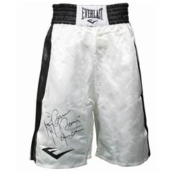 "Ray ""Boom Boom"" Mancini Signed Boxing Trunks (JSA COA)"
