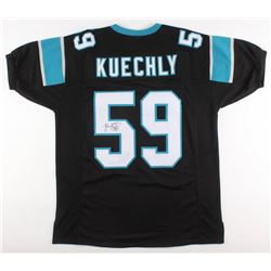 Luke Kuechly Signed Carolina Panthers Jersey (JSA COA)