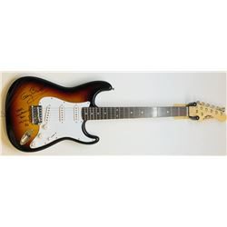 """Gary Busey Signed Full-Size Electric Guitar Inscribed """"Never Compromise Your Music! - BH"""" (JSA COA)"""