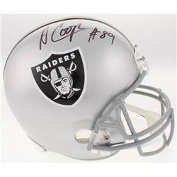 Amari Cooper Signed Oakland Raiders Full-Size Helmet (JSA COA)