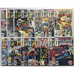 """Lot of (37) 1976-1979 Marvel """"Spectacular Spider-Man"""" 1st Series Comic Books #1-37"""