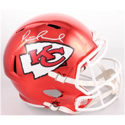 Patrick Mahomes Signed Kansas City Chiefs Custom Chrome Full-Size Speed Helmet (JSA COA)