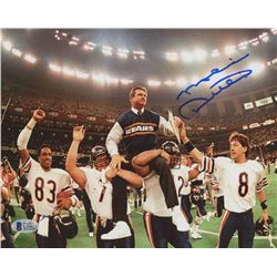Mike Ditka Signed Chicago Bears 8x10 Photo (Beckett COA)