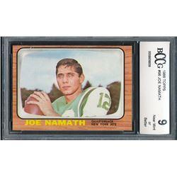 1966 Topps #96 Joe Namath (BCCG 9)