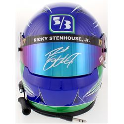 Ricky Stenhouse Jr. Signed 2017 NASCAR Fifth Third Bank Full-Size Helmet (PA COA)