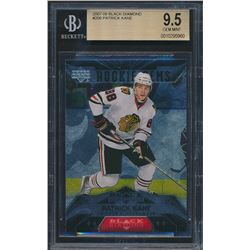 2007-08 Black Diamond #200 Patrick Kane RC (BGS 9.5)