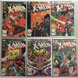 "Lot of (6) 1977-1979 Marvel ""Uncanny X-Men"" 1st Series Comic Books with #158, #159, #160, #161, #162"
