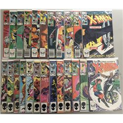 "Lot of (47) 1977-1979 Marvel ""Uncanny X-Men"" 1st Series Comic Books #169-216"