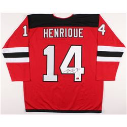 Adam Henrique Signed New Jersey Devils Jersey (Your Sports Memorabilia Store COA)