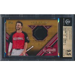 2015 Topps Update All Star Stitches Gold #STITKB Kris Bryant (BGS 9)