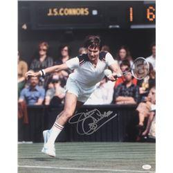 Jimmy Connors Signed 16x20 Photo (JSA COA)