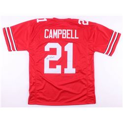 Parris Campbell Signed Ohio State Buckeyes Jersey (JSA COA)