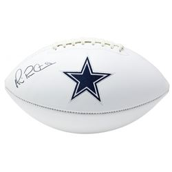 Michael Irvin Signed Dallas Cowboys Logo Football (Beckett COA)