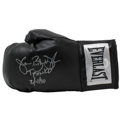 "James ""Buster"" Douglas Signed Everlast Boxing Glove Inscribed ""Tyson KO""  ""2/11/90"" (JSA COA)"