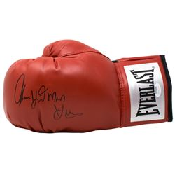 "Thomas ""Hitman"" Hearns Signed Everlast Boxing Glove (JSA COA)"