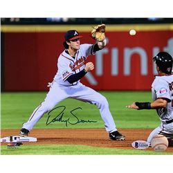 Dansby Swanson Signed Atlanta Braves 8x10 Photo (Beckett COA)