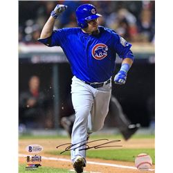 Kyle Schwarber Signed Chicago Cubs 8x10 Photo (Beckett COA)