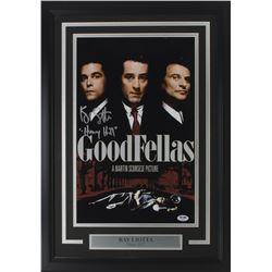"Ray Liotta Signed ""Goodfellas"" 18x26 Custom Framed Photo Display Inscribed ""Henry Hill"" (PSA COA)"