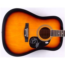 "John Osborne  T.J. Osborne Signed 41"" Huntington Acoustic Guitar (PSA Hologram)"