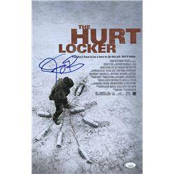 "Jeremy Renner Signed ""The Hurt Locker"" 11x17 Photo (JSA COA)"