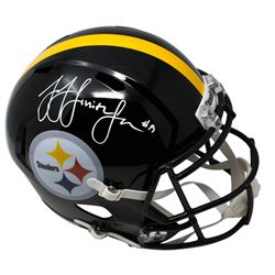 JuJu Smith-Schuster Signed Pittsburgh Steelers Full-Size Speed Helmet (JSA COA)