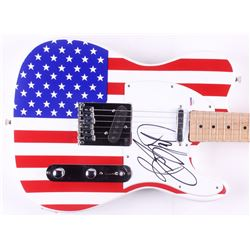 "Bruce Springsteen Signed Huntington 39"" Electric Guitar (PSA LOA)"