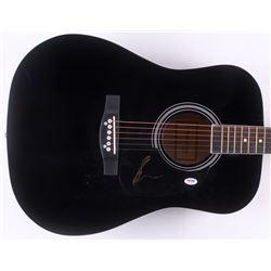 "Shania Twain Signed 41"" Acoustic Guitar (PSA COA)"