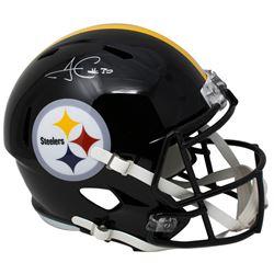 James Conner Signed Pittsburgh Steelers Full-Size Speed Helmet (JSA COA)