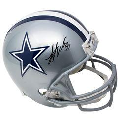 Leighton Vander Esch Signed Dallas Cowboys Full-Size Helmet (JSA COA)