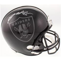 Antonio Brown Signed Oakland Raiders Full-Size Helmet (JSA COA)