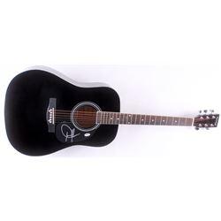 Dwight Yoakam Signed Full-Size Acoustic Guitar (PSA Hologram)
