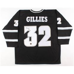 Jon Gillies Signed Providence Friars Jersey (Your Sports Memorabilia Store COA)