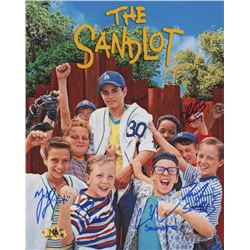 """The Sandlot"" Signed 8x10 Photo Cast-Signed by (5) With Tom Guiry, Marty York, Shane Obedzinski, Cha"