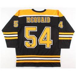 Adam McQuaid Signed Boston Bruins Jersey (McQuaid COA)