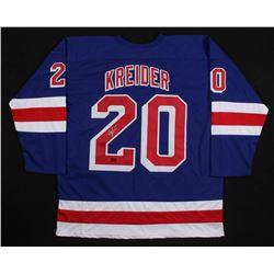 Chris Kreider Signed New York Rangers Jersey (Kreider COA)