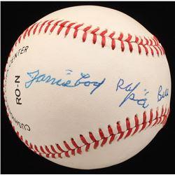 James  Cool Papa  Bell Signed ONL Baseball (JSA LOA)