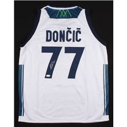 Luka Doncic Signed Slovenija Real Madrid Jersey (JSA COA)