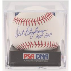 Bert Blyleven Signed OML Baseball with Display Case (PSA COA - Graded 9.5)
