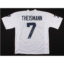 "Joe Theismann Signed Notre Dame Fighting Irish Jersey Inscribed ""Go Irish"" (Radtke COA)"