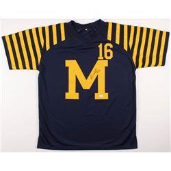 Denard Robinson Signed Michigan Wolverines Jersey (JSA COA)